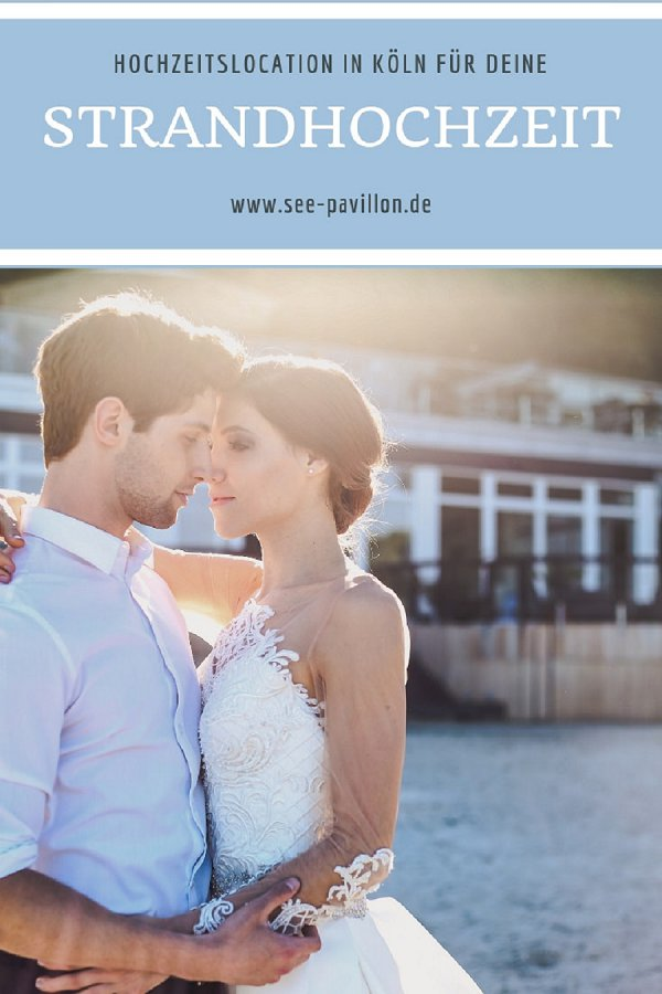 Heiraten am Strand im Seepavillon
